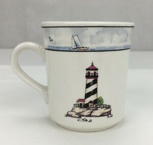 Totally Today Coastal Lighthouse Dinnerware Replacement Cup Only