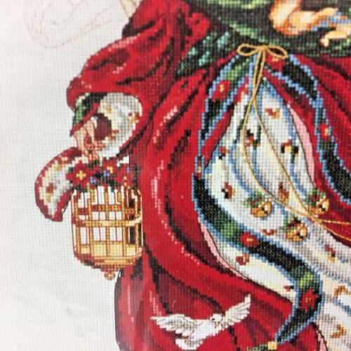 Dimensions Ange de Noël Counted Cross Stitch Kit 8436 laine Gordon NEUF
