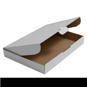 150 Maxibrief-Kartons  350x250x50 WEIß faltbar TOP QUALITÄT BASIC AS40006