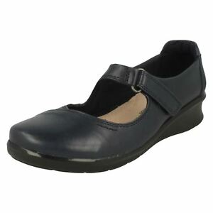 Comfort Shoes Women's Shoes Ladies Clarks Hope Henley Leather Casual Shoes E Fitting