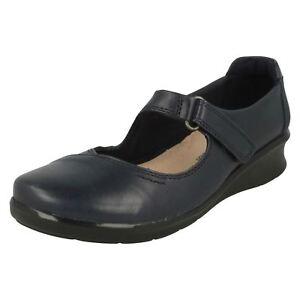 Hope Henley Clarks Zapatos r2b E Azul Cuero Mujer Marino fit 5SxpxqPwE