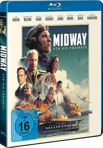 Midway-per la libertà (2019) [Blu-Ray/Nuovo/Scatola Originale] Roland Emmerich