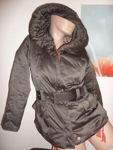 Zara Daunenjacke khaki Jacke Winterjacke braun S