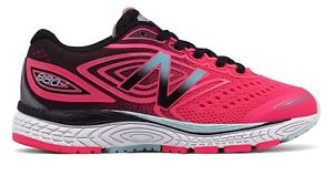 New-Balance-Kid-039-s-880v7-Big-Kids-Female-Shoes-Pink-with-Black-amp-Blue