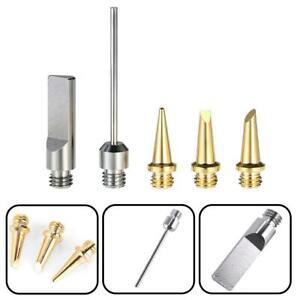5Pcs HS-1115K Butane Gas Soldering Iron Kit Welding Kit Torch Pen Tool  X