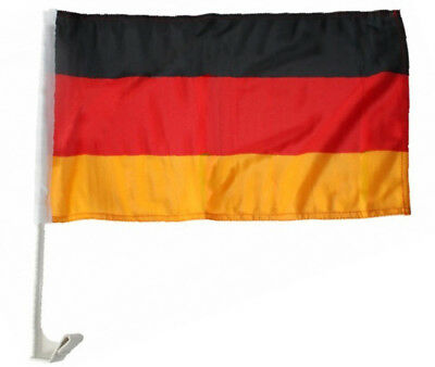 "(2 Pack) Germany Country Car Window Vehicle 12x18 12""x18"" Flag"