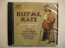 KISS ME KATE - MUSICAL - CD - ORIGINAL BROADWAY CAST 1949 - COLE PORTER - OVP