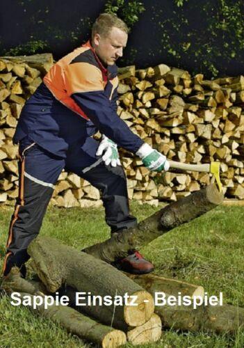 leña Sappie handsappie 38cm 750g Bison eschenstiel forestal kurzstielsappie F