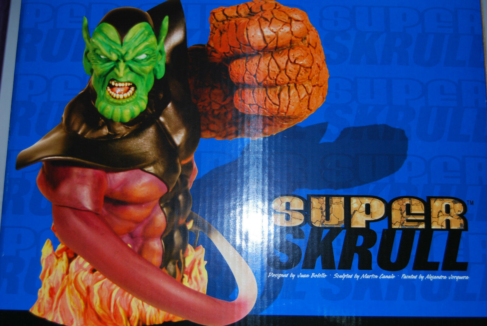 SUPER SKRULL 8  BUST MARVEL UNIVERSE DF NOW AVENGERS THANOS GUARDIANS OF GALAXY1