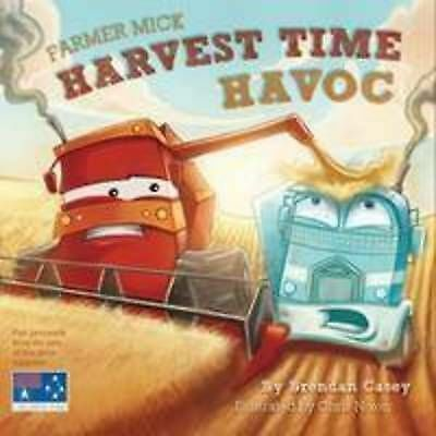 1 of 1 - BRENDAN CASEY, FARMER MICK HARVEST TIME HAVOC. 9780958149341