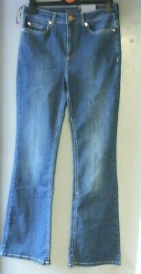 Ladies slim tapered trousers by SottoMarino black grey QVC Italy sz UK 8 /& 12
