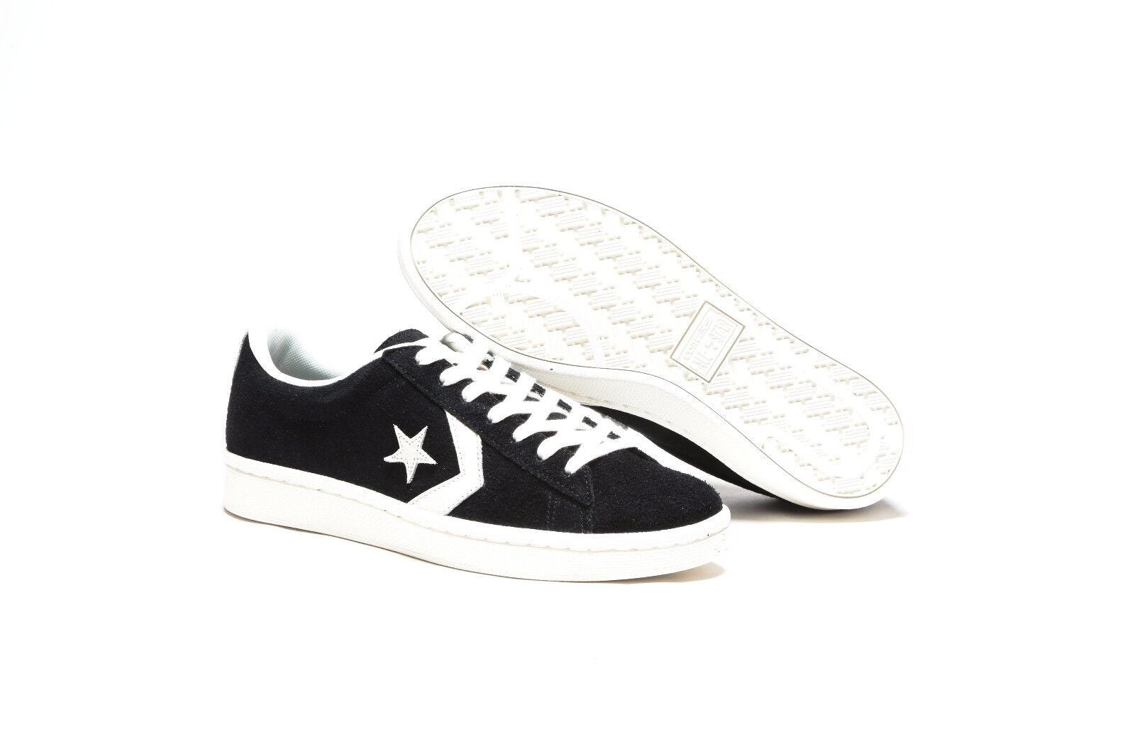 Converse Herren Pro Leder 76 OX NEU Retro Herren Converse Sneaker vintage skate schwarz 030ce7