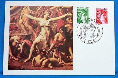Briefmarken Sabine Cpa Postkarte Maximum Yt 1970 C GroßE Vielfalt