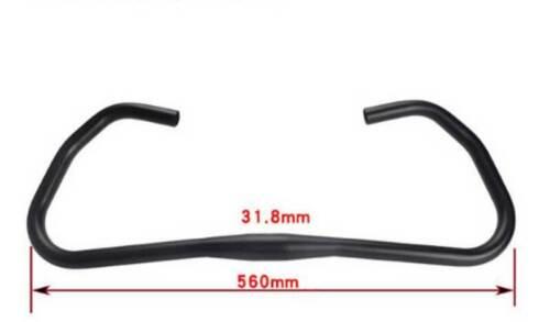 Bicycle Butterfly Handlebar FMF 31.8*560mm Aluminium  MTB Fixed Gear Road Bike