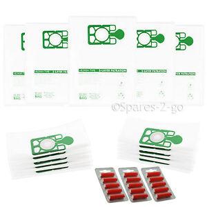 15-x-Vacuum-Cleaner-Cloth-Bags-for-Kerstar-N-10-Hoover-HEPA-Flo-Bags-Fresh
