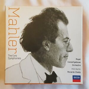 Mahler-The-Symphonies-12-CD-Booklet-set-Riccardo-Chailly-Decca-2007