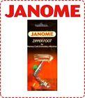 Janome High Shank Adjustable Zipper Foot - NEW Cording Elna Brother New Home