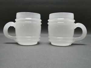 Set-Becherglas-Biedermeier-Weinbecher-weisses-Glas-8-4-cm