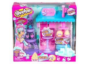 Shopkins-World-Vacation-Europe-Oh-La-La-Macaron-Cafe-Playset-New