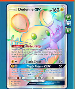 DIGITAL-Dedenne-gx-Rainbow-Rare-Pokemon-tcg-ONLINE