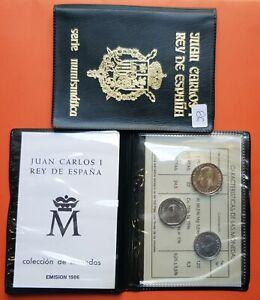 Spain-1986-book-sc-1-100-200-pesetas-without-Circular-juan-carlos-i-3-coins