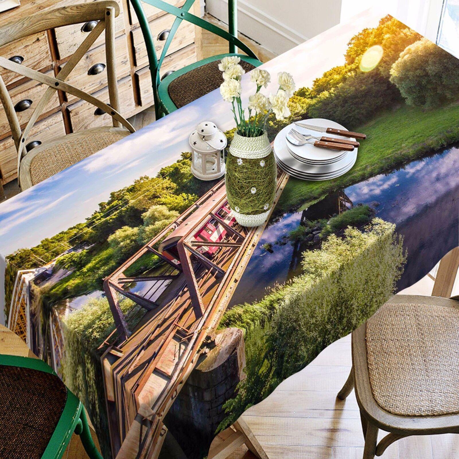 3D pont 95 Nappe Table Cover Cloth Fête D'Anniversaire événement AJ papier peint UK
