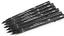 UNI PIN 0.6 Line DRAWING PEN FINELINER ULTRA FINE LINE MARKER IN BLACK pack 5