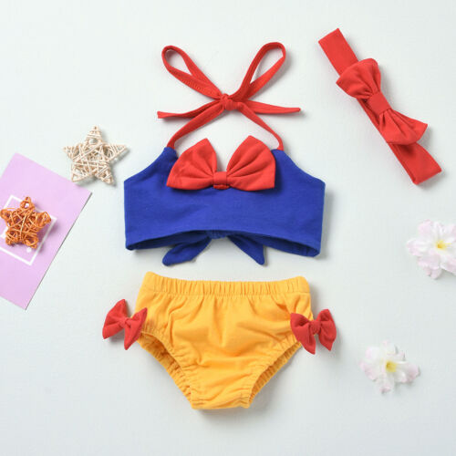 Baby Girl Summer Romper Clothes Ruffled Polka Dots Birthday Party Newborn Outfit