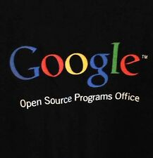 """VTG GOOGLE T-Shirt Open """"May the Source be with you"""" Programs Office Womens 2XL"""