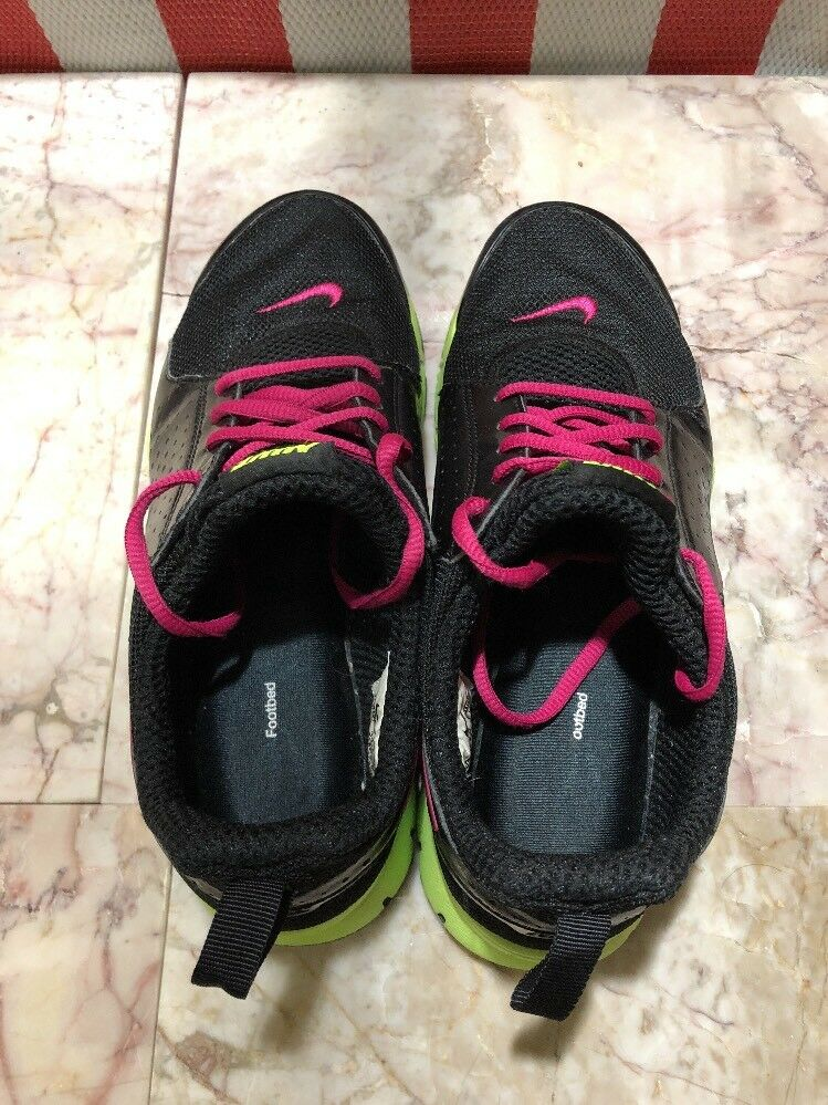Nike rosa nero verde lime scarpe da ginnastica 454445-063 le dimensioni 6   riparazione    Maschio/Ragazze Scarpa