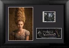 Film Cell Genuine 35mm Framed & Matted Alice In Wonderland Mia Wasikowska 5342