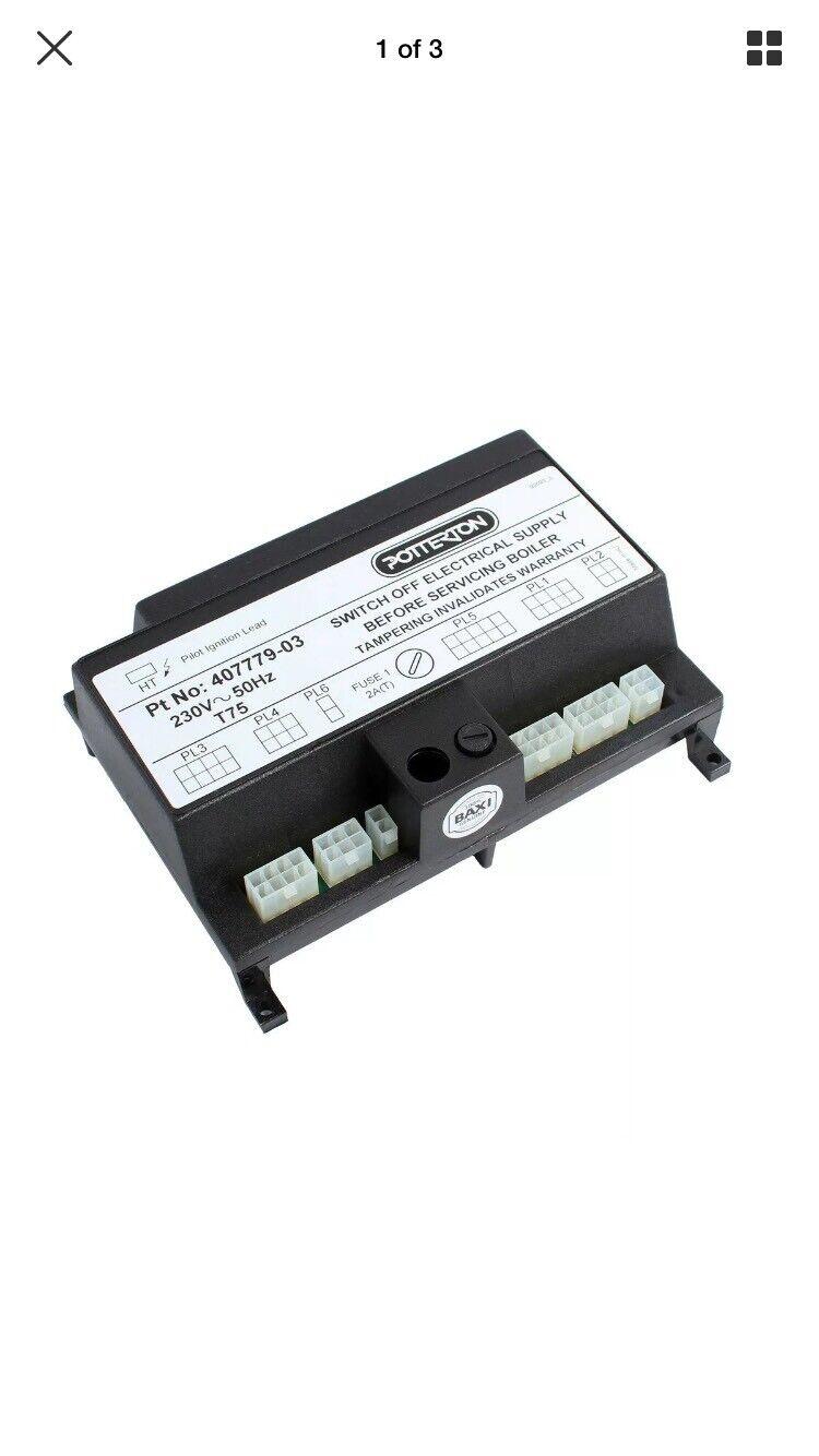 Potterton Kingfisher MF gamme principale de rechange PCB 900312 4077 79 Nouveau GC E02365
