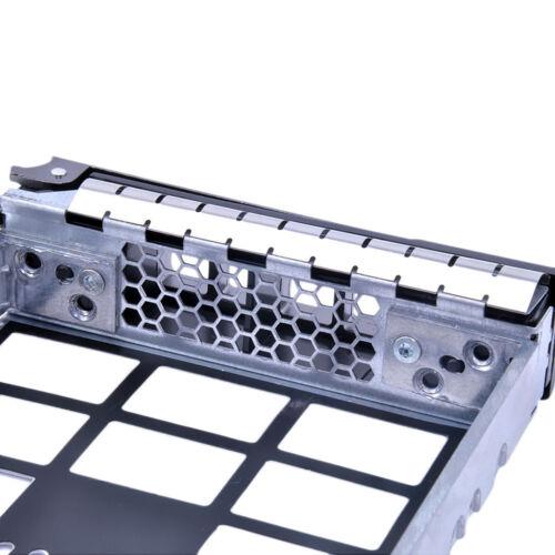 F238f 3.5 Sas Sata Caddy Scsi Trineo Bandeja para Dell PowerEdge R510 R720 R810 NX3000
