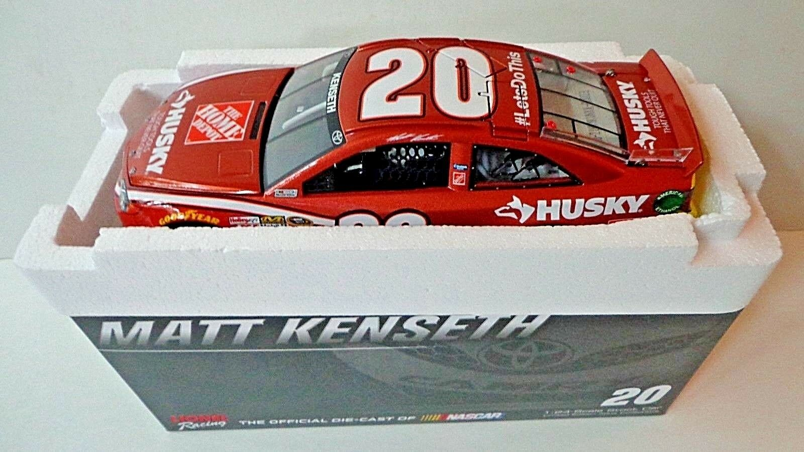 New Matt Kenseth 2014 Husky 1/24 Scale Vintage Finish Action  1/72