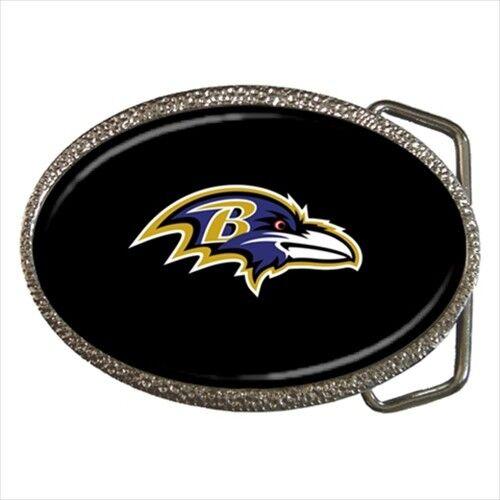 Baltimore Ravens Belt Buckle NFL Football