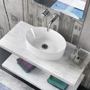 Lavabi Bagno In Offerta.Lavabo Bacinella 49 5x36 Bianco Ceramica Lavandino Lavello Bagno