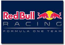 "Red Bull Racing Formula One Team Logo Fridge Magnet Size 3.5"" x 2.5"""
