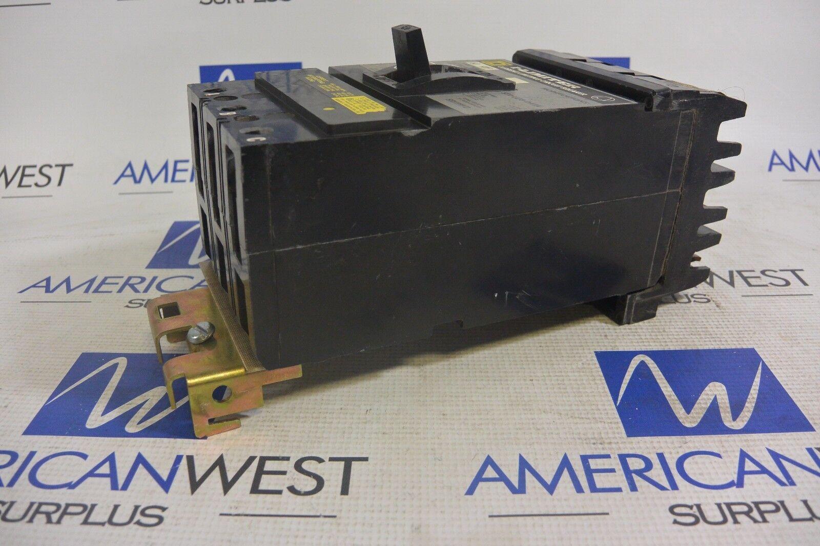 Square D IF36060 IF36060 IF36060 3P 100K @ 600 V 60 Amp Disyuntor línea I-Probado 40bd32