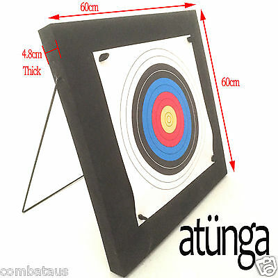 New Atunga Archery Target High Density Foam Practice Accessory Stand Bow & Arrow