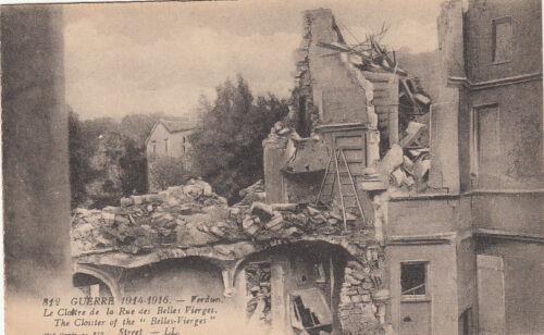 CPA GUERRE 14-18 WW1 VERDUN 812 LL le cloître écrite 1917