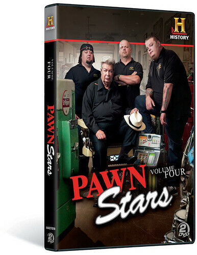 Pawn Stars Volume 4 - DVD By Rick Harrison,Big Hoss,Chumlee - VERY GOOD - $16.71