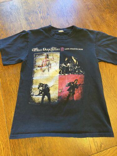 Three Days Grace Life Starts Now Shirt Sz S