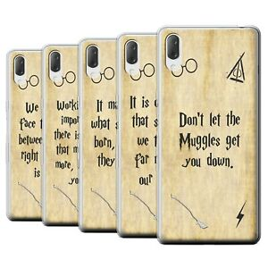 Gel-TPU-Case-for-Sony-Xperia-L3-2019-School-Of-Magic-Film-Quotes