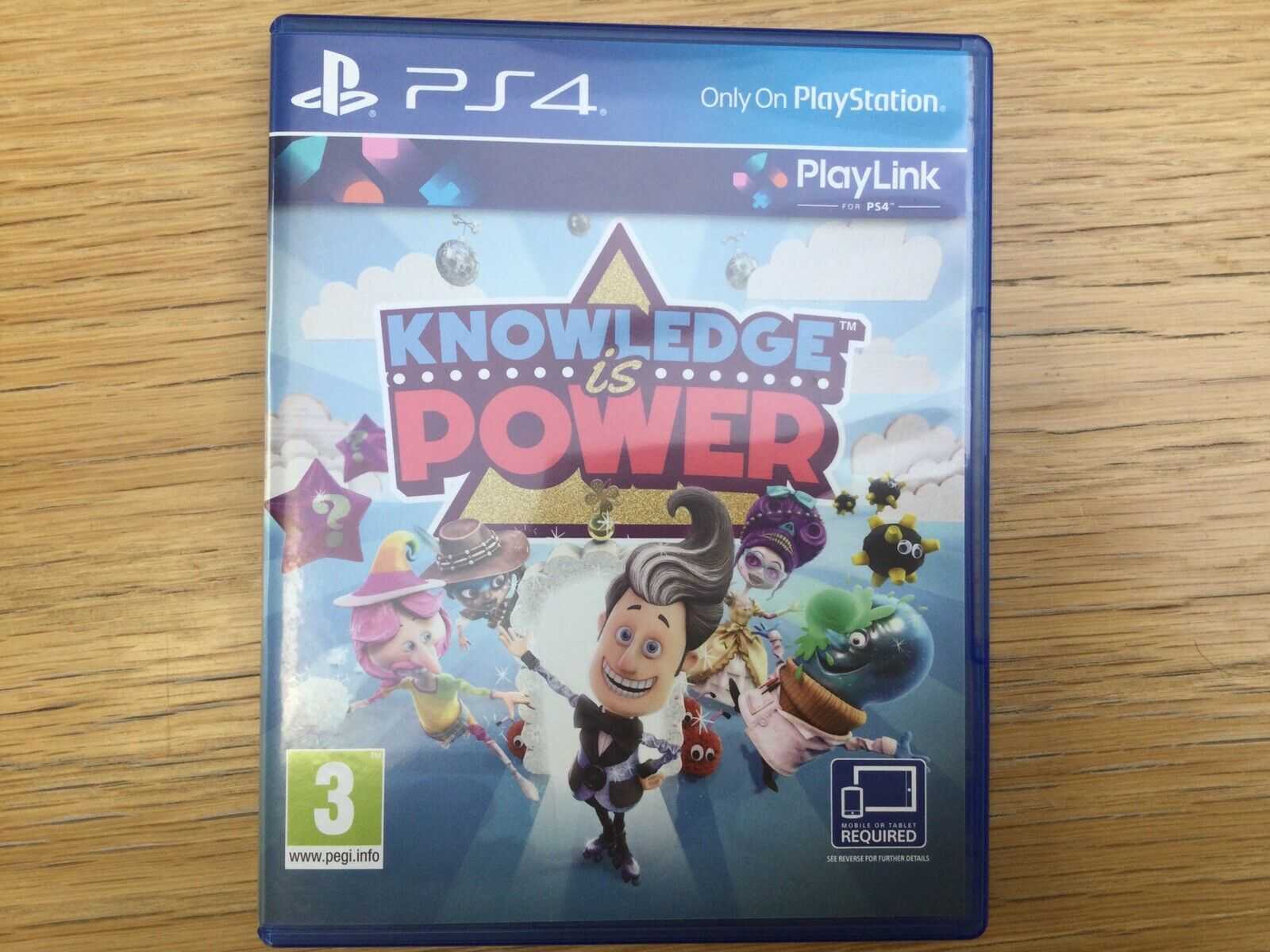 Knowledge is Power (PS4, 2017)