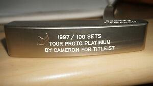 Cameron-neuf-1997-100-Set-Putter-Tour-Proto-Platinum-par-Cameron-Titleist-2