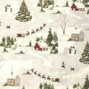 Envogue Christmas Tablecloth Tree Santa Village Snowman 60x84 60x102 60x120 70r Ebay