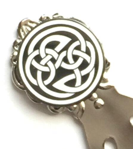 T798 Schottland Keltisches Design Emaille Verziert Lesezeichen /& Geschenktüte
