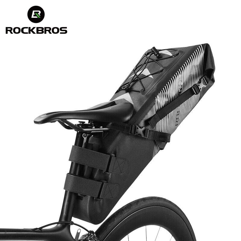 ROCKBROS Ciclismo Bicicleta Bici Bolsa bolsas de equipo de ciclismo libre combinar Touring
