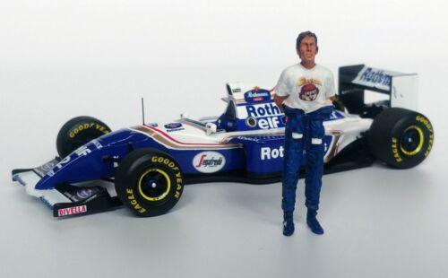 1/43 Senna 1994 Figurine Rothmans Williams Renault Fw16 - Mfh debout