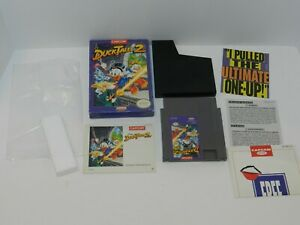 Disney S Duck Tales 2 Nintendo Nes Game Complete In Box Tested 1 Owner Ducktales Ebay
